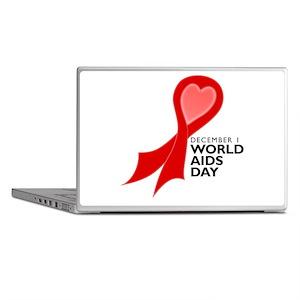 World AIDS Day Red Ribbon Laptop Skins