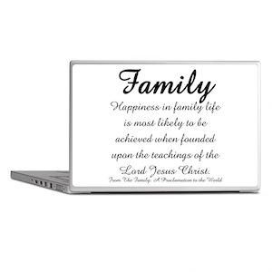 Family Laptop Skins