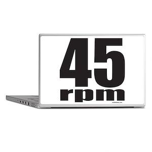 45 RPM Laptop Skins