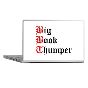 big-book-thumper-2 Laptop Skins