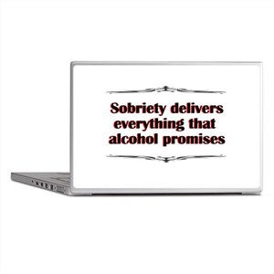 sobriety-delivers Laptop Skins