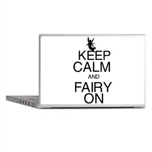 Keep Calm and Fairy On Laptop Skins