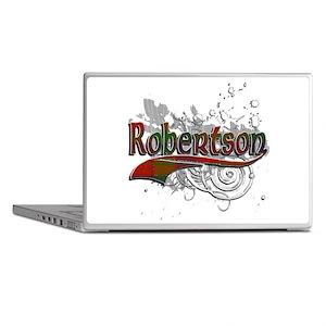 Robertson Tartan Grunge Laptop Skins
