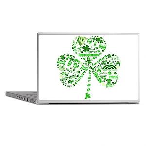 St Paddys Day Shamrock Laptop Skins