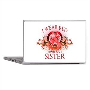 I Wear Red For My Sister (flo Laptop Skins