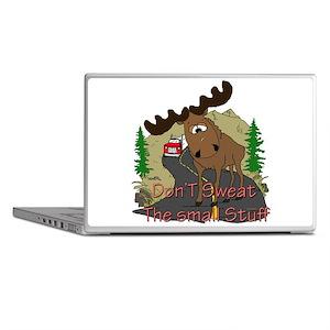 Moose humor Laptop Skins