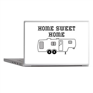 Home Sweet Home Fifth Wheel Laptop Skins