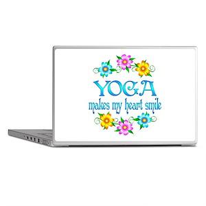 Yoga Smiles Laptop Skins