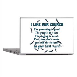 I Like Our Church Laptop Skins