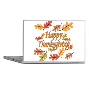 Happy Thanksgiving Laptop Skins
