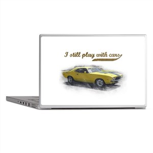 I still play with cars Laptop Skins