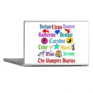Vampire Diaries Characters Laptop Skins