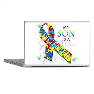 My Son is a Fighter Laptop Skins