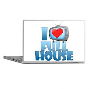 I Heart Full House Laptop Skins