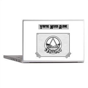 Youre Never Alone Laptop Skins