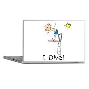Boy I Dive Laptop Skins