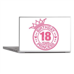 Birthday Princess 18 years Laptop Skins