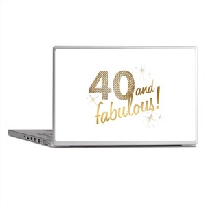 40 and Fabulous Laptop Skins