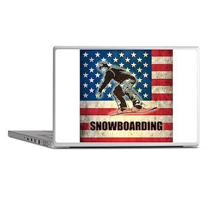 Grunge USA Snowboarding Laptop Skins