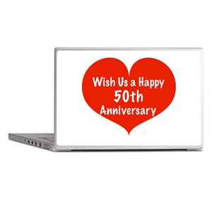 Wish us a Happy 50th Anniversary Laptop Skins