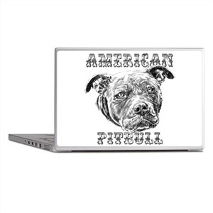 American Pitbull Laptop Skins