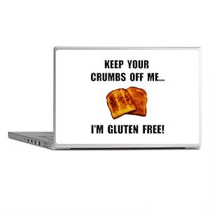 Crumbs Off Me Gluten Free Laptop Skins