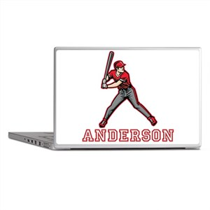 Personalized Baseball Laptop Skins