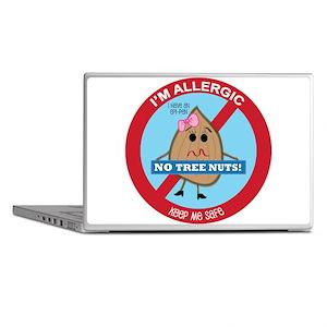 Tree Nut Allergy - Girl Laptop Skins