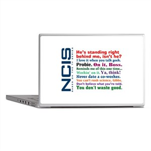 NCIS Quotes Laptop Skins
