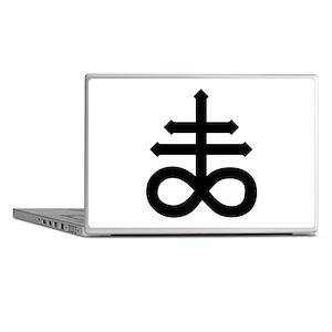 Hermetic Alchemical Cross Laptop Skins