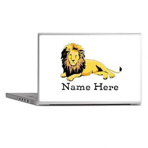 Personalized Lion Laptop Skins