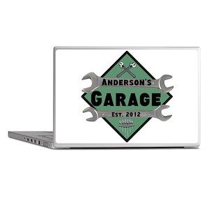 Personalized Garage Laptop Skins
