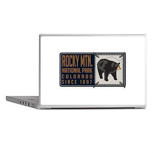 Rocky Mountain Black Bear Badge Laptop Skins