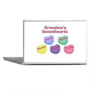 Custom Grand kids sweethearts Laptop Skins