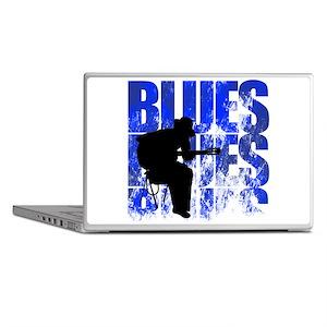 blues guitar Laptop Skins