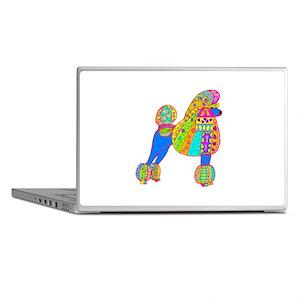 Pretty Poodle Design Laptop Skins