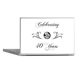 40th Anniversary (b&w) Laptop Skins