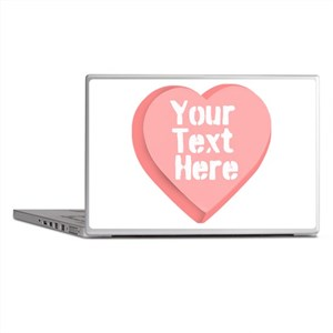 Candy Heart Laptop Skins