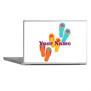 Personalized Flip Flops Laptop Skins