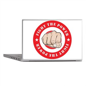 Fight The Power Laptop Skins