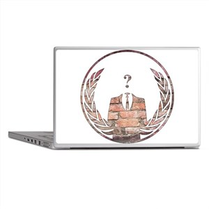 Anonymous Laptop Skins