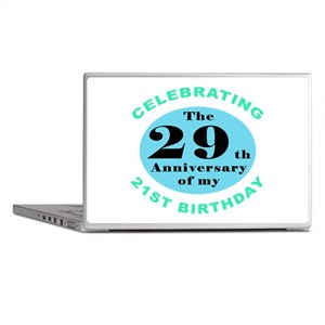 50th Birthday Humor Laptop Skins