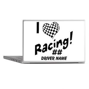 Custom Racing Laptop Skins
