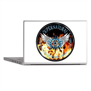 Supernatural protection Symbal Flames Ring Patch L