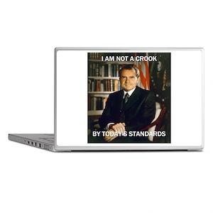i am not a crook Laptop Skins