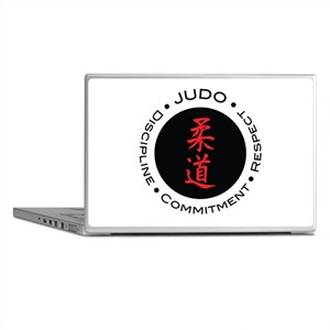 Judo Logo circle Laptop Skins