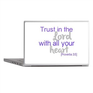 Trust in the Lord Laptop Skins