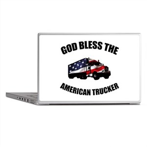American Trucker Laptop Skins