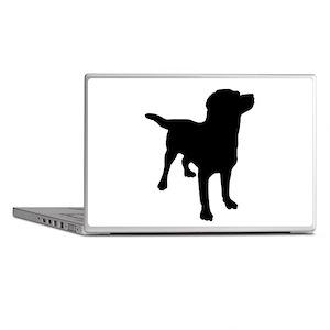 Dog Silhouette Laptop Skins