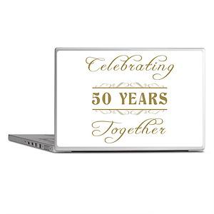 Celebrating 50 Years Together Laptop Skins